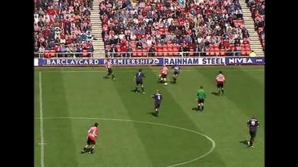 Прекрасна контра-атака на Арсенал и гол на Фреди Люнгберг