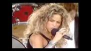 Shakira Orally Fixated On Dvd