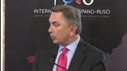 Principe Jorge Rurikovich asiste al Foro Internacional Hispano Ruso