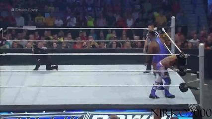 Los Matadores & El Torito vs. The New Day – 6-being Tag Team Match: Wwe Разбиване 20.08.2015
