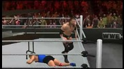 Wwe Smackdown vs. Raw 2011 Triple H Superplex through two Tabels