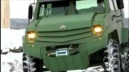 Нoви руски бронирани превозни средства Уамз Колун и Торос