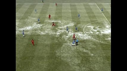 Красив гол на Фифа 12