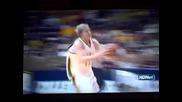 "Баскетболист почти прави салто ""смях"""