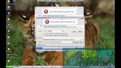 Как може да сваляте клипове от Youtube с програмата Youtube Downloader Hd