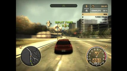 Need For Speed Most Wanted Епизод 1