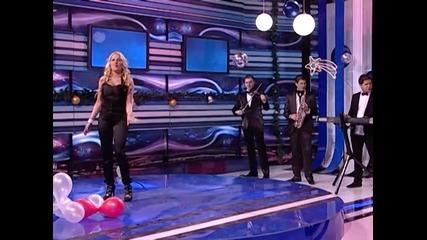 Radica Stojanovic Rada - Sve zbog mene - (Gold Muzicki Magazin Novogodisnji program) - (Tv Pink )