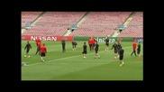 Какво показа Байерн преди битката с Барселона