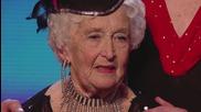 Супер баба кърши снага в британско шоу за таланти
