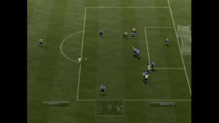 Давид Силва отново изуми с гола си на Фифа 2012