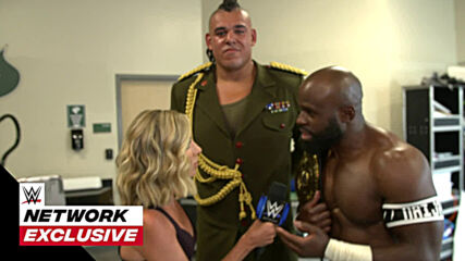 Apollo Crews & Commander Azeez take control of their interview: WWE Network Exclusive, June, 18, 2021