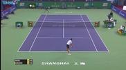 Rafael Nadal Hits Triple Shanghai Hot Shot [2015]