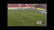Уругвай вкара осем на Таити и ще играе срещу Бразилия