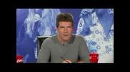 American Idol - Дебелана Пее Неква Песен