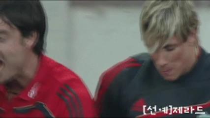 Fernando Torres vs Albert Riera Funny New Hd 720p