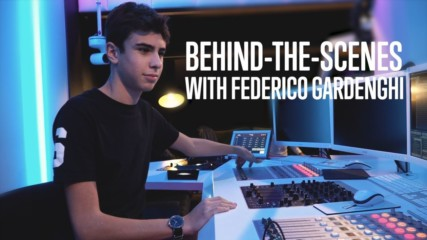 World's Youngest DJ records 1st album at Armada Studios