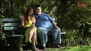 Супер дебел мъж и супер слаба жена се влюбват един в друг