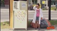 Винаги трябва да се внимава, дори и при отваряне на вратата на хладилника - Скрита камера
