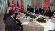 France: Obama meets with Erdogan, calls for de-esclation with Russia