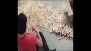 Вижте какво може да се направи от дървен материал