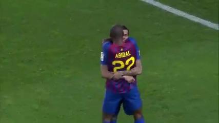Barcelona vs Real Madrid 2-2 Highlights 25.01.2012