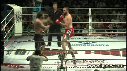откъс от Maxfight 27 Любомир Симеонов (любо Чука) vs. Уес Симс