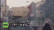 Горящи улици по време на Формула 1 в Бахрейн