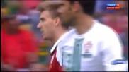 Спектакъл На Евро 2012 Португалия-дания 3-2