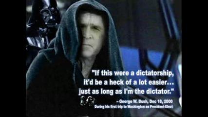 Поредица Подигравателни Снимки с Буш