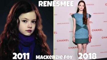 Актьорите от Twilight - Преди и сега