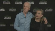 Star Wars Celebration: Carrie Fisher And Anthony Daniels