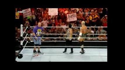 Wwe Raw 20.12.10 John Cena vs Dolph Ziggler Part 1