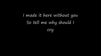 Jay Sean - Why Cry [lyrics]