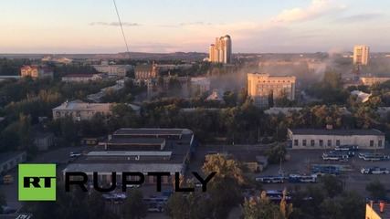 Ukraine: Donetsk shelled, with reports of 49 ceasefire violations