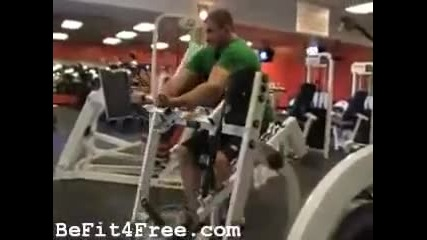 Biceps Training Bodybuilding Video