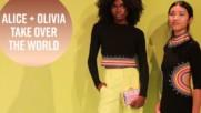 Alice + Olivia take celebs 'round the world at NYFW