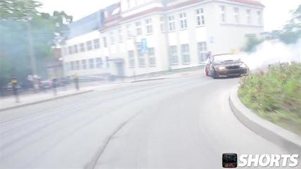 Немска сила! Bmw M3 E46 Drift