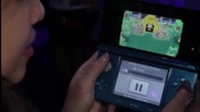 E3 2011: Animal Corssing 3ds - 3d Trailer Walkthrough