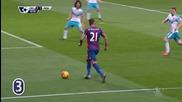 Уилфрид Заха (Кристъл Палас) за 3:1 срещу Нюкасъл