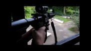 Army Rifles & Airsoft Shooting Test ( German, Just for Fun )