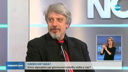 ЗАРАЗАТА У НАС: Кога България ще достигне пиковите нива на COVID-19