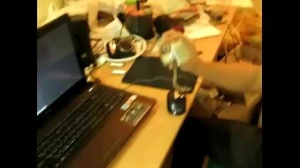 Ето какво става като снимате лаптопа си с фотоапарат