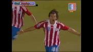 Haedo Valdez Goal Paraguay - Argentina 1 - 0 (1 - 0 10/09/2009)