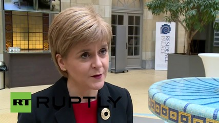 Belgium: EU membership in UK's interests - Nicola Sturgeon