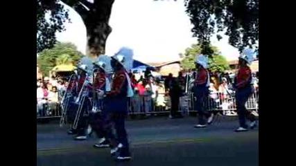 Парад в град Савана