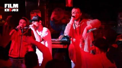 Sensei, Sistah, Nrg_d ft. Dj Coca на живо 28.02.2014