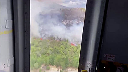 Argentina: Governor assesses area of huge wildfire in El Bolson