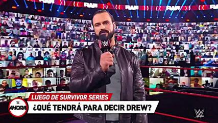 TODO lo que tienes que SABER antes de #RAW: WWE Ahora, Nov 23, 2020