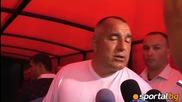 Бойко Борисов : Начко беше бунтар ще имаме нацонален стадион