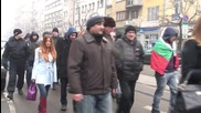 Bulgaria: Dozens protest against refugees in Sofia